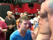 Group pissing guys and gay group porno at Sausage Party