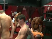 Gay group sex movie monster and guy group...