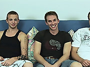 Today at Penniless Straight Boys, we have a members solicit; Shane, Diesal and Mike R gays in group porno