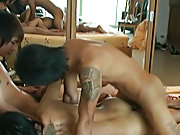 Taking a dick in every crater is Nok's specialty, and here he gets fucked and sucks a hot juicy Thai cock previous to splashing his cum all over
