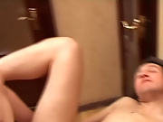 After the oral favors the man begged to have his prostate massaged with cock, so the boy delivered, nearly fucking him into the represent on the wall