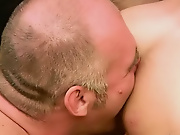 Looks  this balding geezer found this bare something hardcore gay sex porn