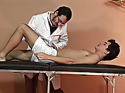 Watch the twink's cock shoot out sweet milk as the doctor was working on his hot butt new cowboys nude men cum free