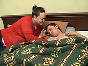 He dreamt of a horny stranger appearing in his as a gift, and approaching his bed straight man amature por