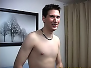 I gave Mike a special task to try and that I wanted to see him make believe fuck a pillow so that I could see how he looked naked cowboy sex