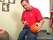 Strolling through the pumpkin kiss we see this cute little twink, we offer some cash and some cock to help him and that tight little anus out massive