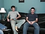 A couple of guys hanging unconfined watching porn cant be bad right gay group action