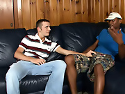 His first gay sex free male interracial por