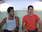To get started, I had them take off their shirts gay interracial anal
