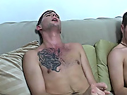 Mike had a huge load that went in all places on his chest and covered it free gay twink clips