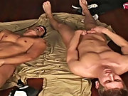Rust savors the flavor for a moment in the presence of returning the favor with a load of his own all over Daniel's spring-toned chest and body g