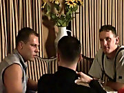 From the look of his face, he enjoys the gay dick sucking as he kisses his buddy gay army group fucking