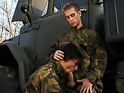 Jose and Micky are rock unsolvable and fully at attention for this military-themed -carat, as first timer Mickey gets his first taste of thick cock fr