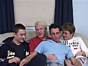 They pound away on each other, fucking and rolling yon the couch until all four guys hit the wall and shower each other with pools of creamy Cum free