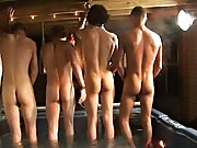 We got 4 boys: Tanner, Dakota, Tommy, and Josh all in the hot tub, rapid to make it one hell of a party nude gay male groups