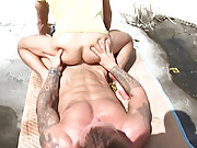 Of course after that it's even easier to convince him to get fucked in his ass by a total stranger hot naked men outdoors