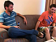 Alec's nice neighbor invited him in for a beer while he waits amateur gay curious