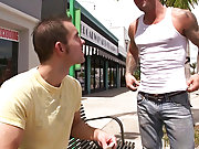 We find one at a bus stop waiting for a bus, but the ride we have in mind might just change his sexual preference gay outdoors sex pictures