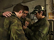 Mike is about to get a lesson in breaking rank when he gets his asshole broken open for the first time by Kiko and Mikee gay military man porn