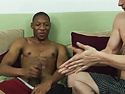 Jamal took control of his cock for a moment before both boys pulled out the futon and lay on it, side by side and jerking themselves off jamal manding