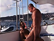 Trojan follows his instructions and munches on his ass, and thrusting his cock passed the lubed camorra, his tight ass taking all he can get whilst bo