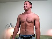 Pulling the waistband down in the second, his muscular ass looked to be very firm from all his working out big muscle bears gay