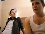 Brody Frost and Direly Strait stop at a motel on their way to a concert when poor Direly realizes that his boyfriend is a serial cheater free gay twin