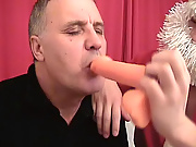 It was the hugest dildo brought by a young and horny Santa Claus gay xxx mature free clips