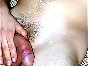 Shane cums in his hand