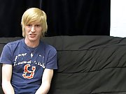 This new blond stud gives a super fleshly interview for his 1st BC vid teen boy sex for first time at Boy Crush!