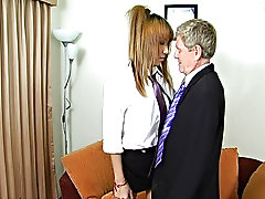 After many many years of removing young girls panties and smacking silky smooth bare buttocks, Ted has become sympathetic to nubile naughtiness hardco