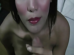 Young asian girl making blowjob behind the scene tranny blowjob thumbnails